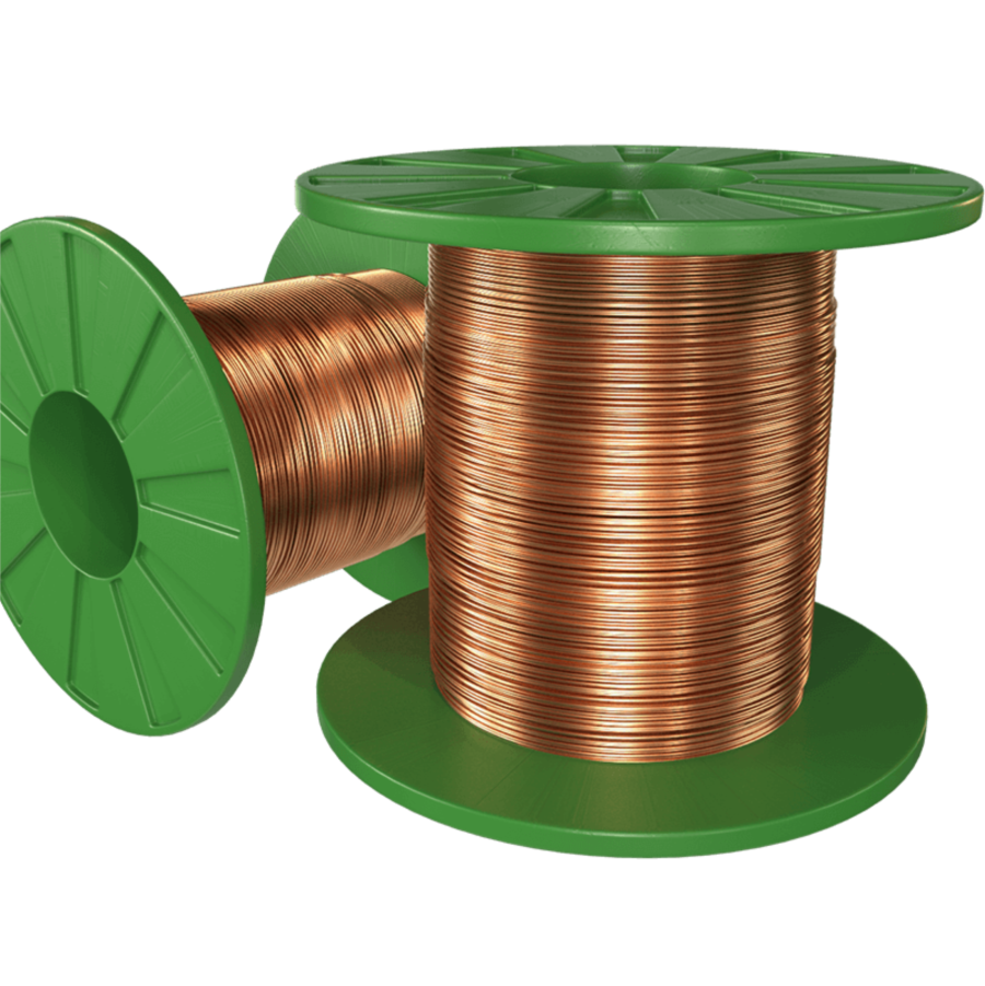 Thinned copper wires